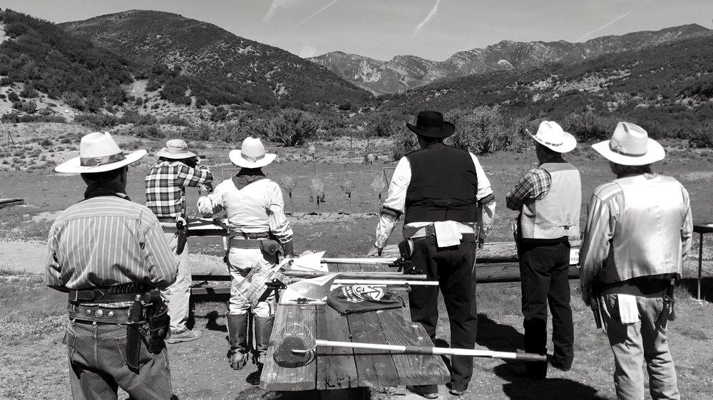 Cowboy Action BW.jpg