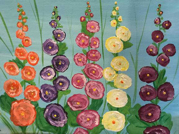 Painting Hollyhocks2.jpg
