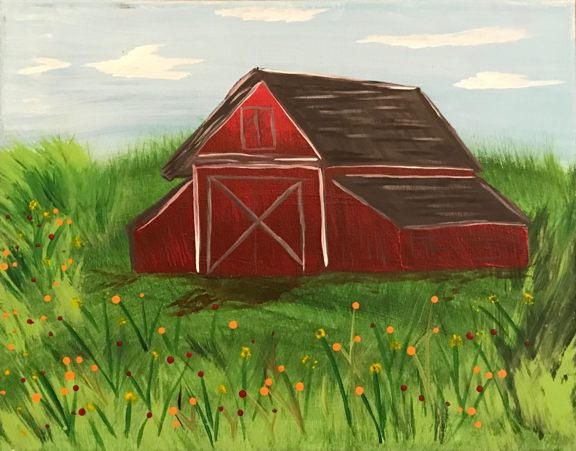 Painting Barn in Summer.jpg
