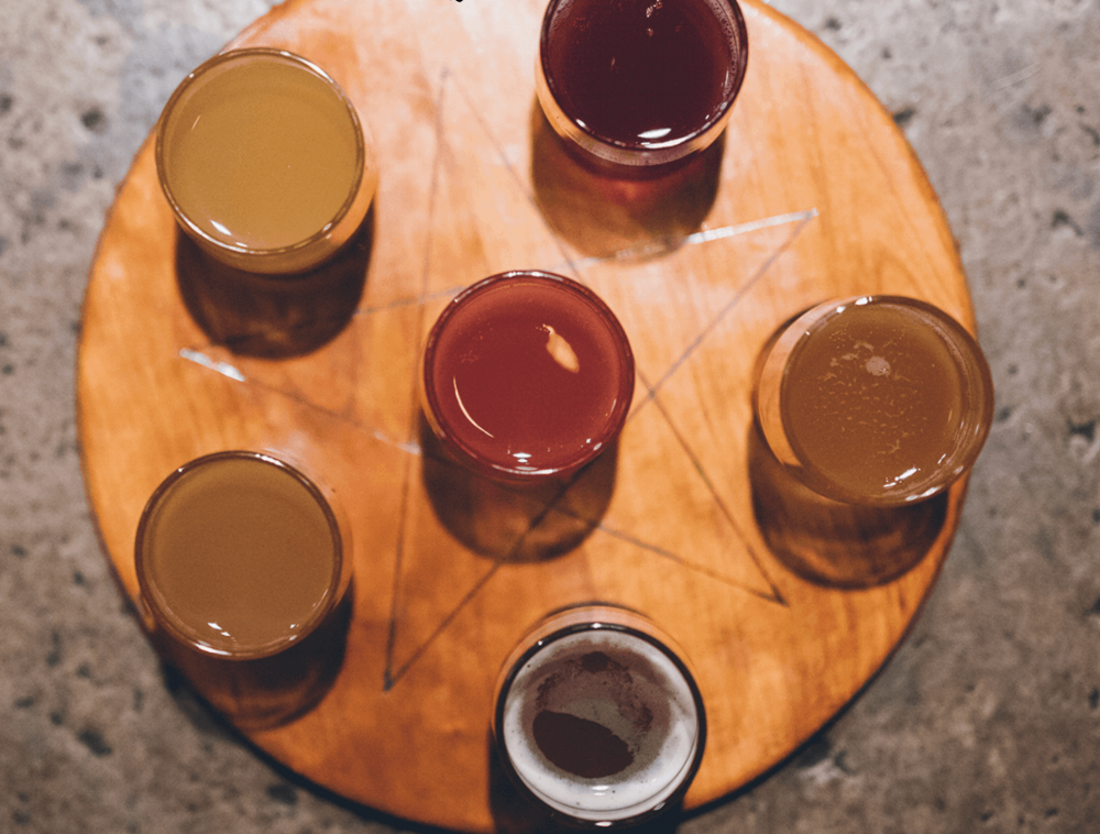 Get a flight of Kombucha!