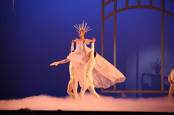 Gisele Bethea as the Snow Queen // Photo by John Bethea