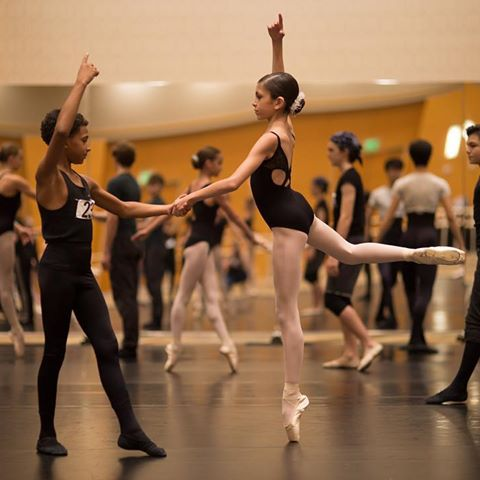 Students at the Grand Prix Intensive