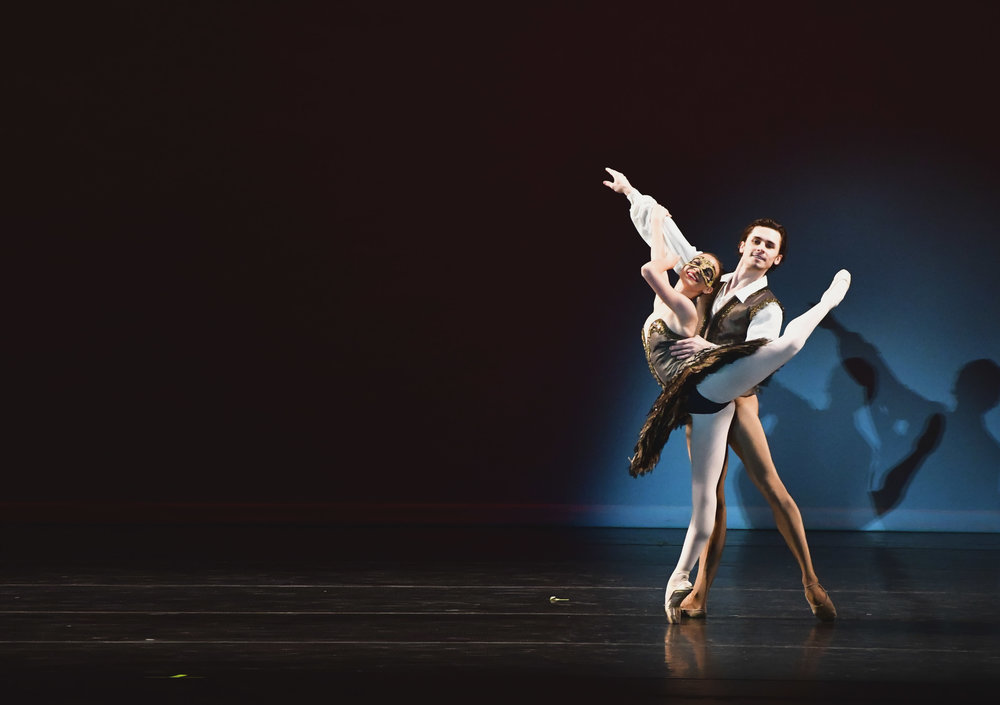 YAGP 2017 WINNER MADISON PENNEY AND SLAWOMIR WOZNIAK JR IN SATANELLA PAS DE DEUX