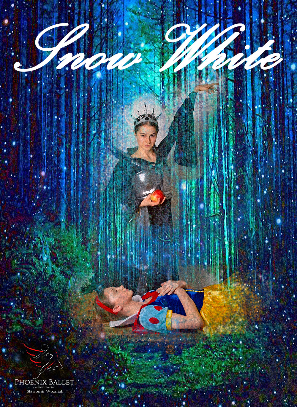 Phoenix Ballet presents the world premiere of Slawomir Wozniak's Snow White - This May 17-19 at the Orpheum TheatreFri May 17, 7PMSat May 18, 2PMSat May 18, 7PMSun May 19, 1PMCLICK HERE TO BUY TICKETSor call 602-262-7272Tickets start at just $20! Discounts for students, seniors, military and children.Mirror mirror on the wall... who's the fairest of  them all? The perfect Mother's Day gift! Phoenix Ballet presents the  world  premiere of Slawomir Wozniak's SNOW WHITE this May at the Orpheum  Theatre (203 W Adams, Phoenix.) Phoenix Ballet brings this classic  fairytale to life with a beautiful princess, seven dwarfs, and an evil queen  with a poisoned apple. This  family-friendly ballet is re-imagined with a classic flair and all  new choreography, beautiful sets and colorful costumes. Featuring  award-winning, internationally recognized professional dancers along  with students from one of the top ballet schools in the entire world,  Master Ballet Academy. May 17, 7PM, May 18, 2PM and 7PM, May 19, 1PM.