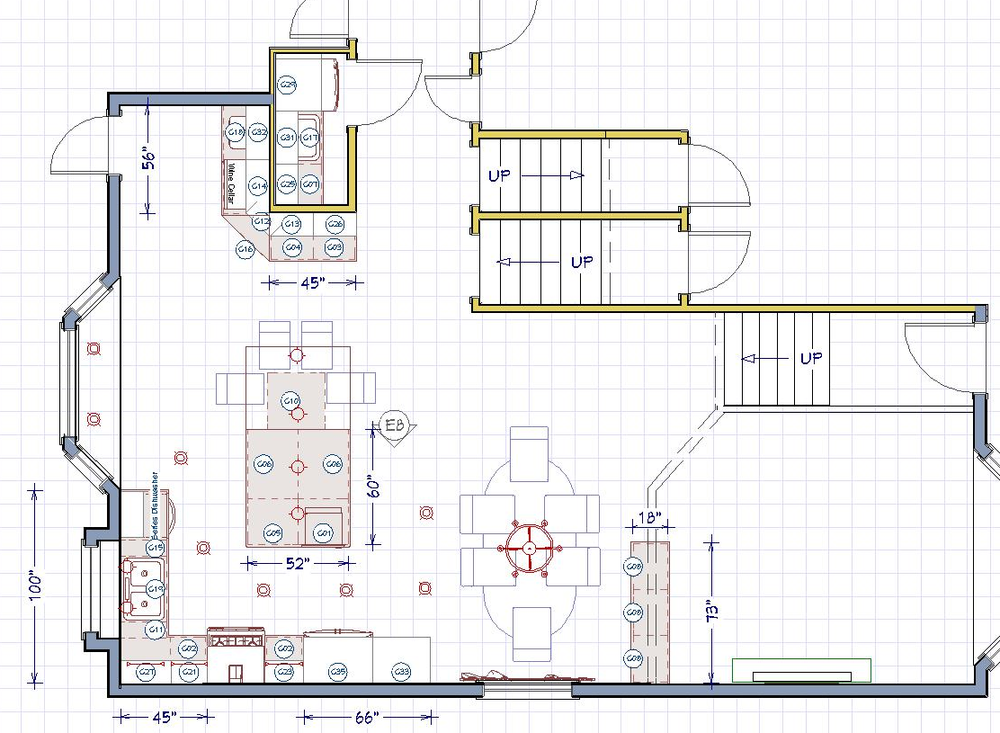 2D Space Plan