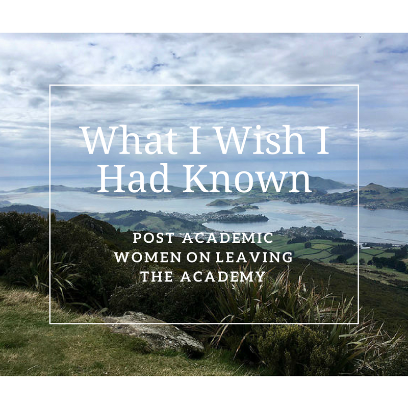 Post Academic Women on Leaving - This report is compiled from a survey of post academic women talking about what they wish they had known before they had left the academy.March 2018