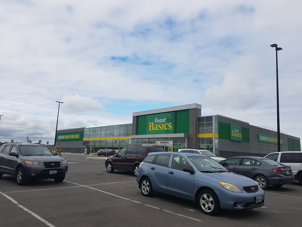 FOOD BASICS - Location: 493 Holland St. West, Bradford, ON