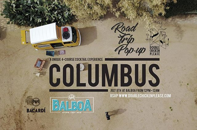 Columbus is calling!! Road trip pop-up is gonna be on July 8th at Balboa!! Reservation link in bio.  See y'all soon!! #dcppopup