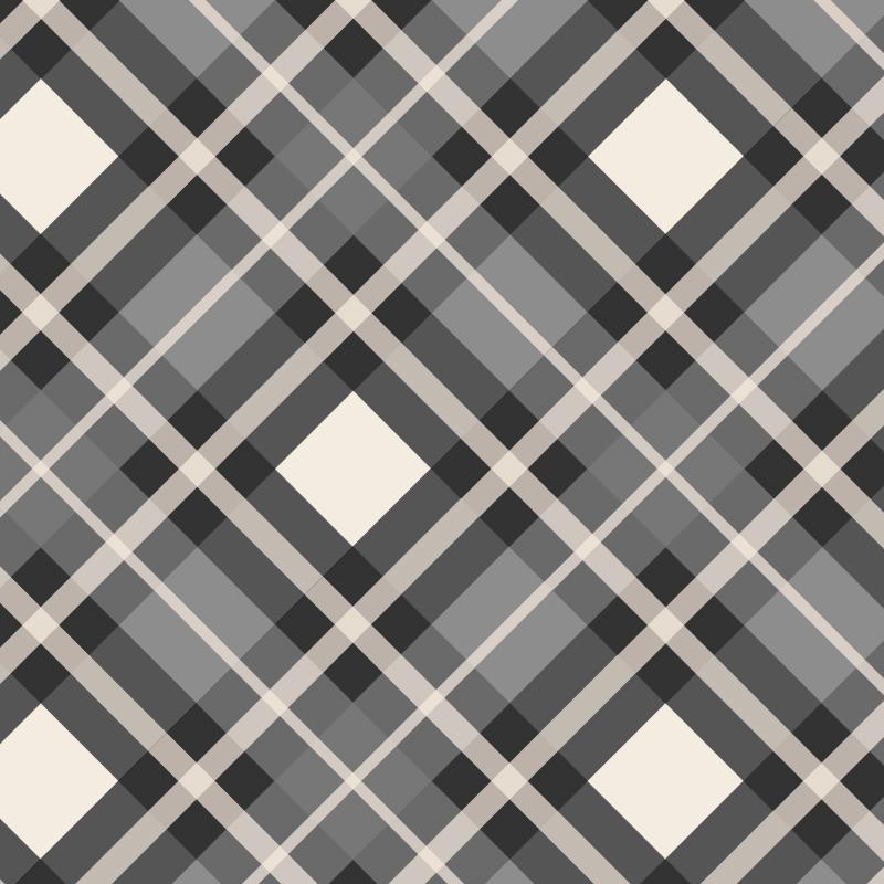 Custom Wedding Necktie Bow Tie Square Triple Stripe Plaid.jpg