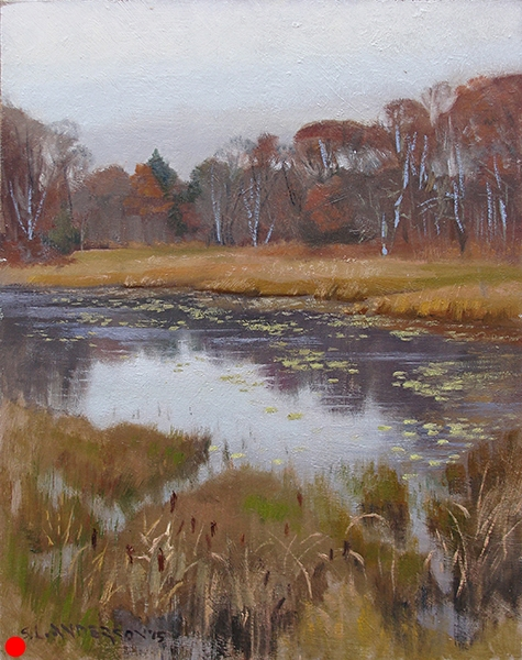 November Color,  16 x 12 oil on panel SOLD