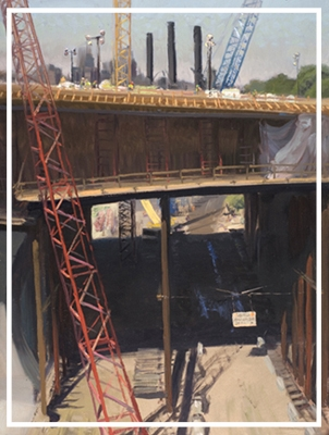 Art of Construction: Paintings of theI-35W Bridge Project -