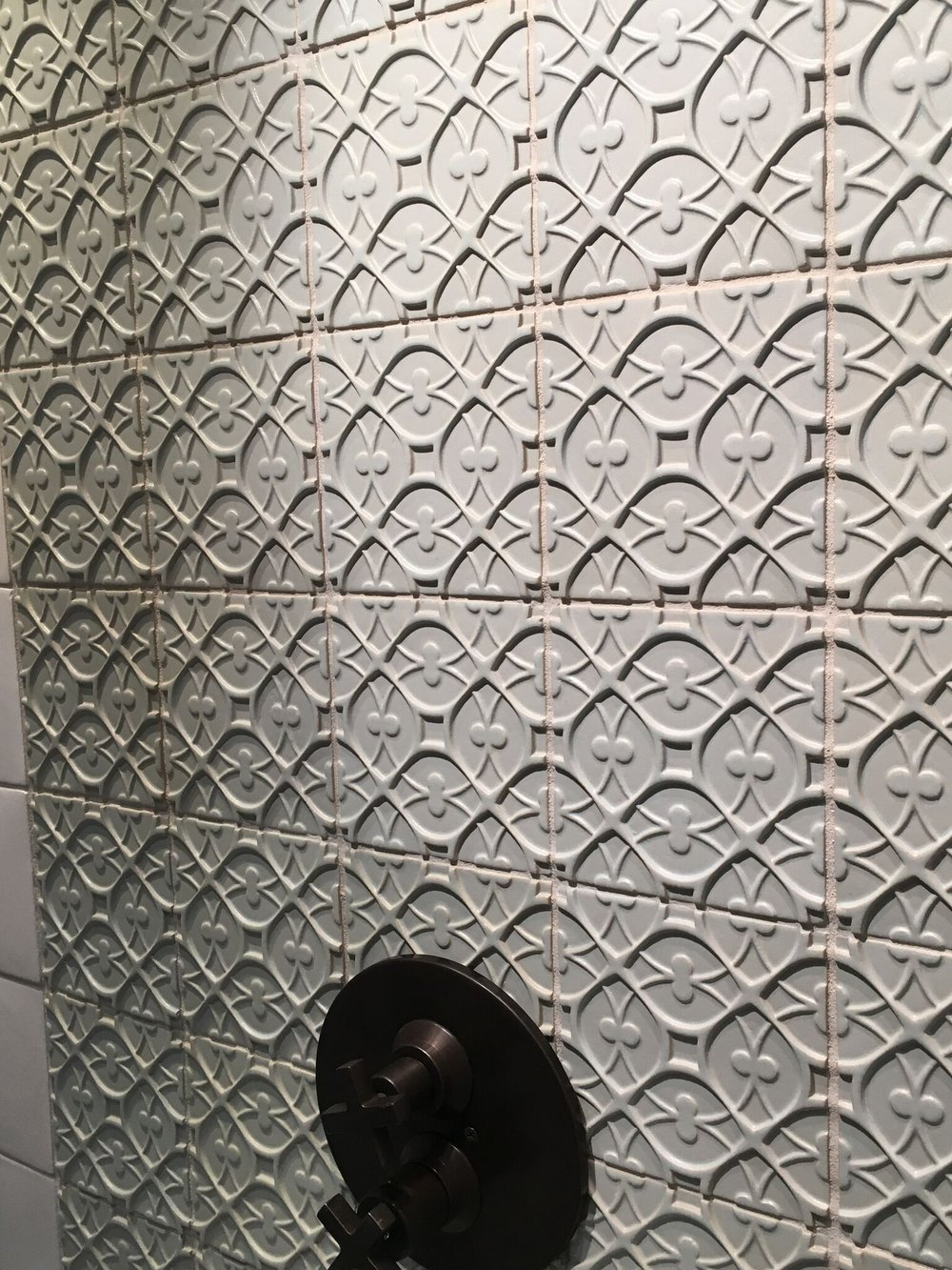 Textured tiles are being produced by many upscale vendors but Walker Zanger is a definite leader: visit a local showroom for a closer look.