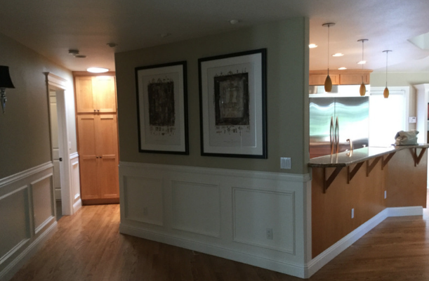 BEFORE: VIEW FROM ENTRY HALL