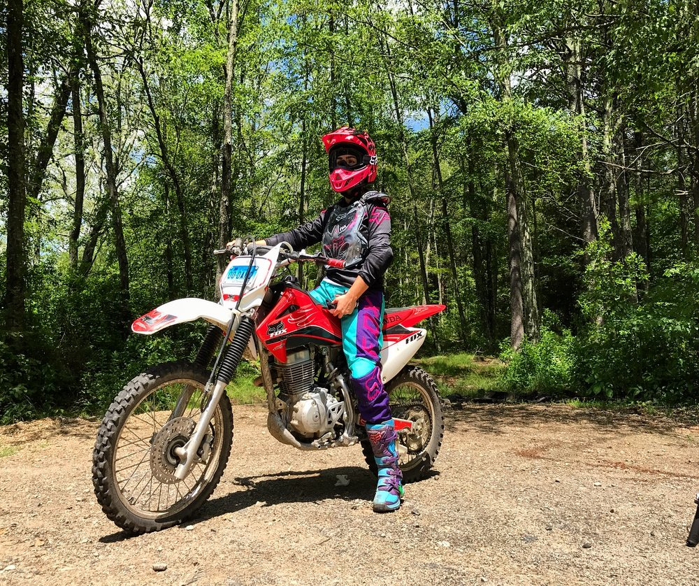 Erika Hurst Over And Out Dirt Bike 2.JPG