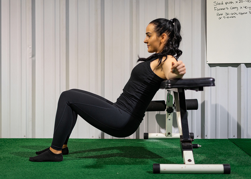 Glute Bridge starting position