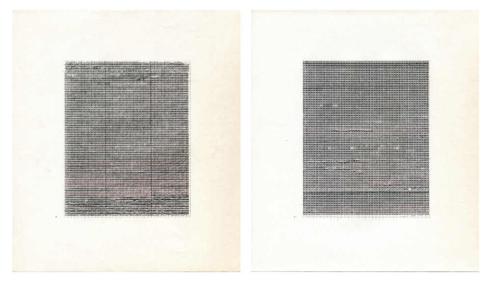 %22M.U.%22 Typewriter ink, pencil on paper 17 x 23 inches.jpg