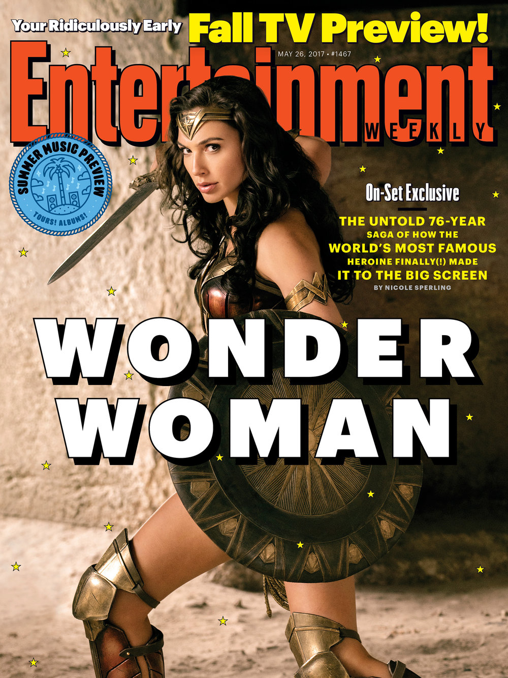 Gal Godot as Wonderwoman -