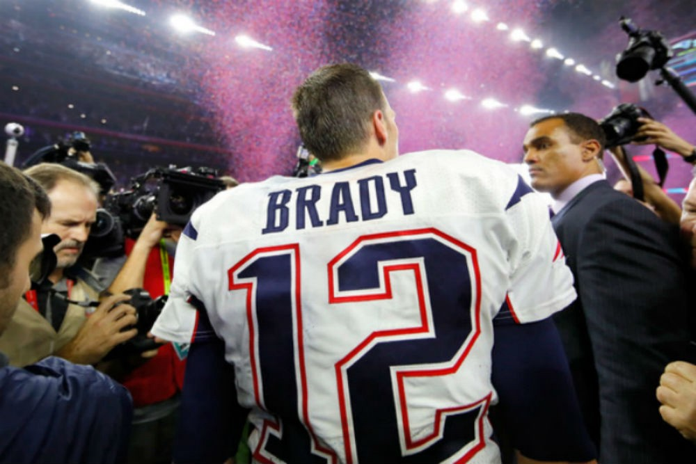 THE Greatest of All-Time   If you didn't know before Super Bowl 51, now you know.  READ HERE.