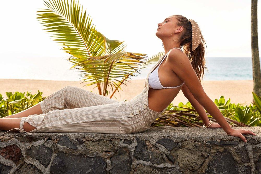 Bahamas Jumpsuit Sand & Palm Spring Bralette Top White 2.jpg