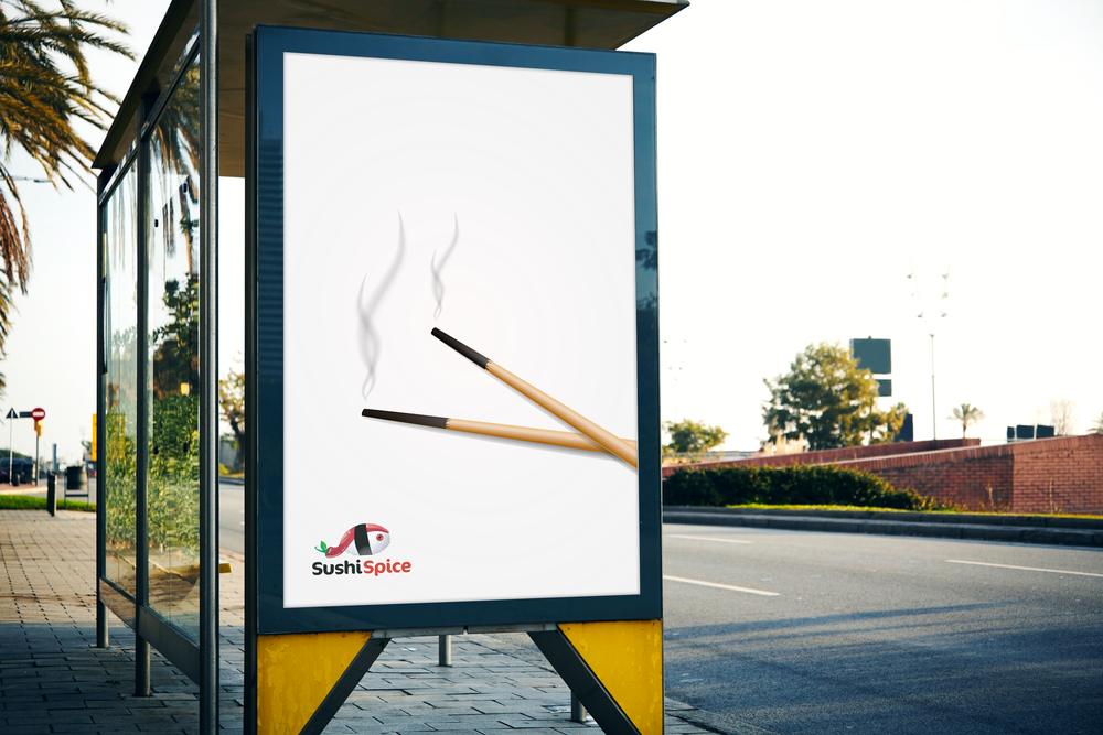 Free Outdoor Bus Stop Billboard Mockup For Advertisement 2.png