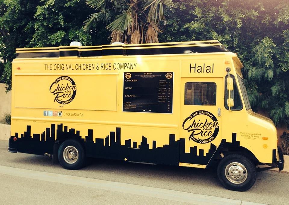 Chez Salim Chicken Rice Truck