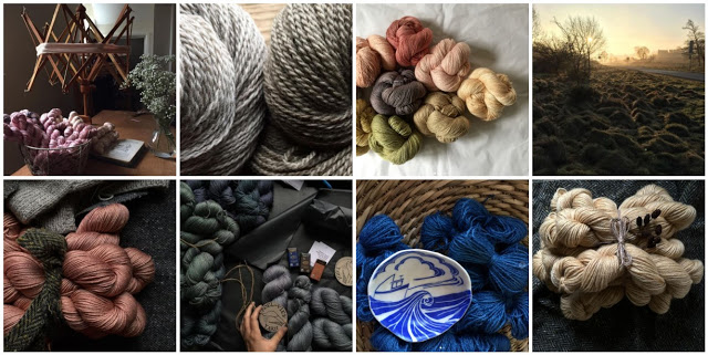 Images collected from Moel View Yarn's Instagram page