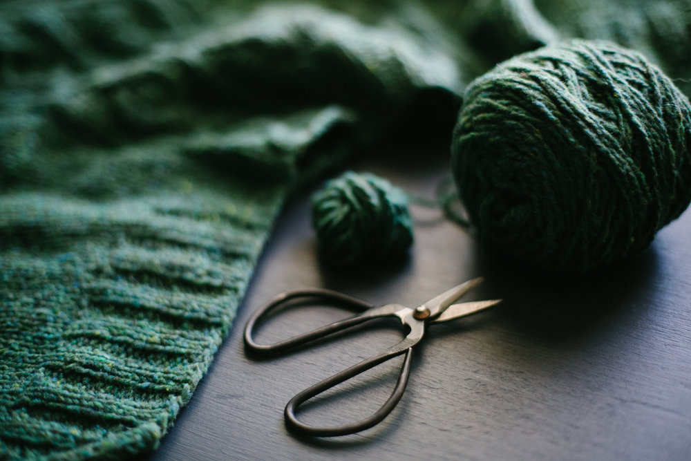 photograph by Katie Starks,from  Slow Knitting