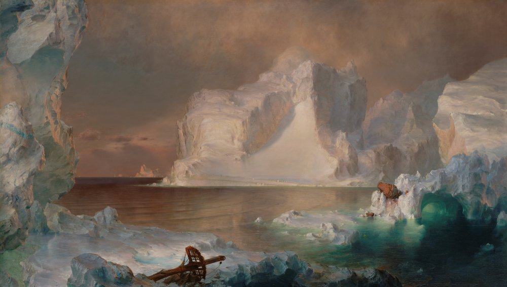 "Church ""The Icebergs"", 1861"