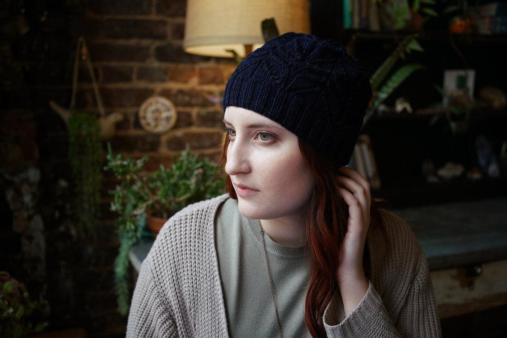 Undulation Adoration Hat by Hannah Thiessen