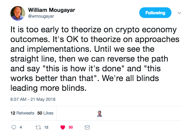 William Mougayar Tweet.png