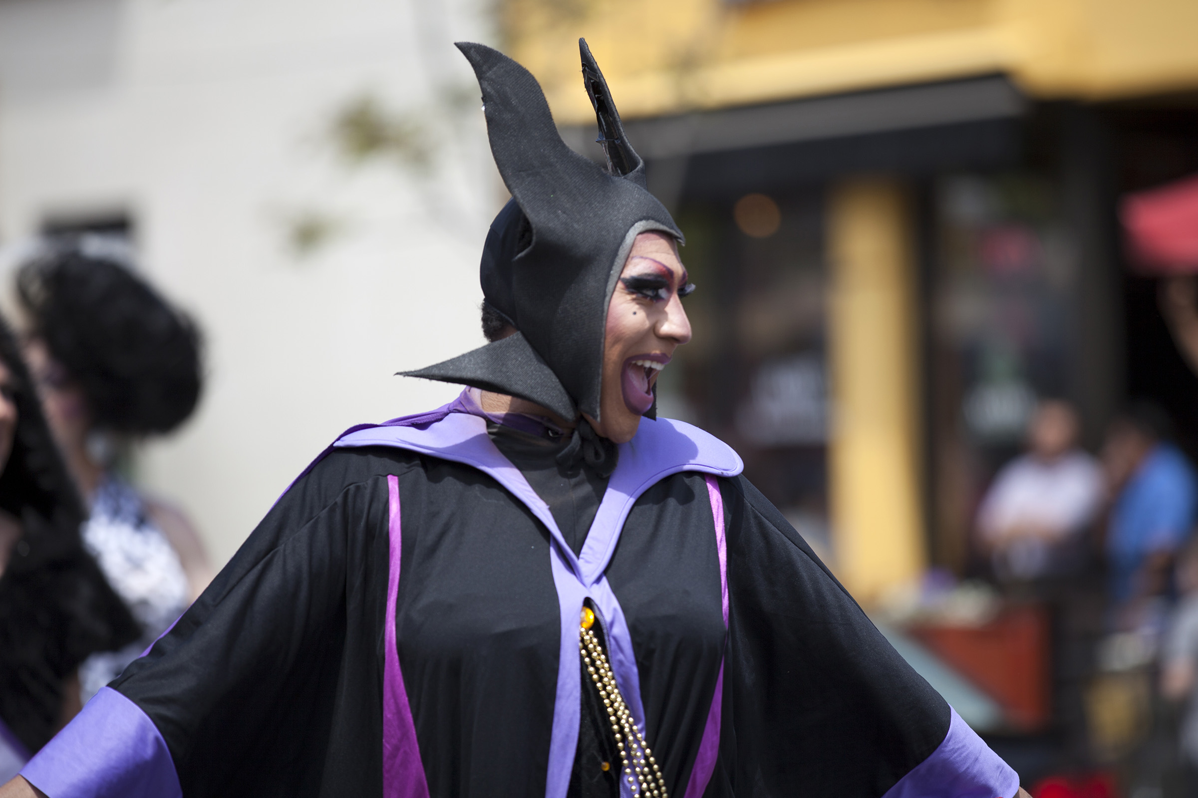 Black Drag Maleficent is a boss.