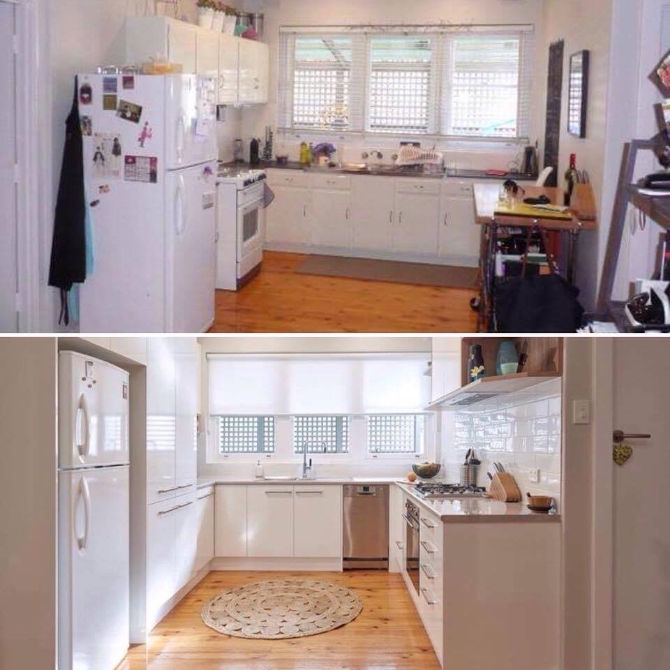 Featuring Brilliant SA Before & After Kitchen transformation