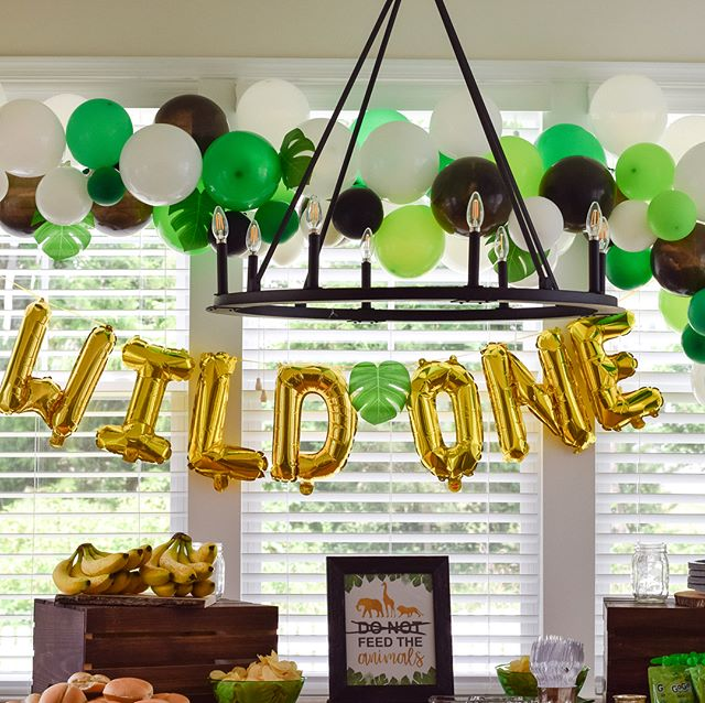 Celebrated the cutest wild ONE this weekend! . . . . Cake, donuts, cookies: @sweetfromscratch  Balloons, decorations: @monicalynneevents  Planning, theme, ideas: @monicalynneevents . . . . #wildone #firstbirthday #jungle #safari #birthday #party #oneyear #monicalynneevents #mleevents #loudounweddings #loudounevents #northernvaevents #northernvaweddings #dmvevents #dmvweddings #weddings #eventplanner #weddingplanner #dcweddings #dcevents #dceventplanner #dcweddingplanner