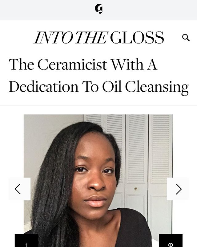 Y'ALL I'm so excited to be featured by one of my favorite brands 😭 I love you, @glossier !! Check out my #ITGTopShelfie article for @intothegloss through the link in my bio! I talk about Grey Remedy, inclusivity in the beauty industry, and a few of my favorite beauty products 💁🏾‍♀️ Thank you so much for having me!