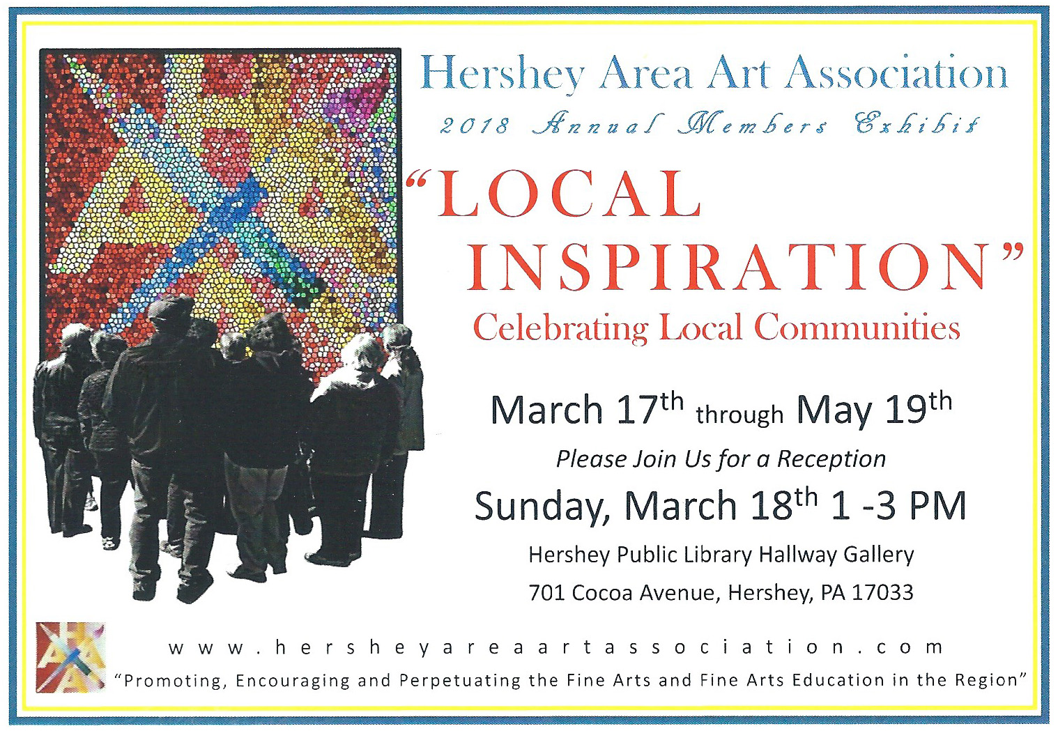 Current Events Hershey Area Art Association