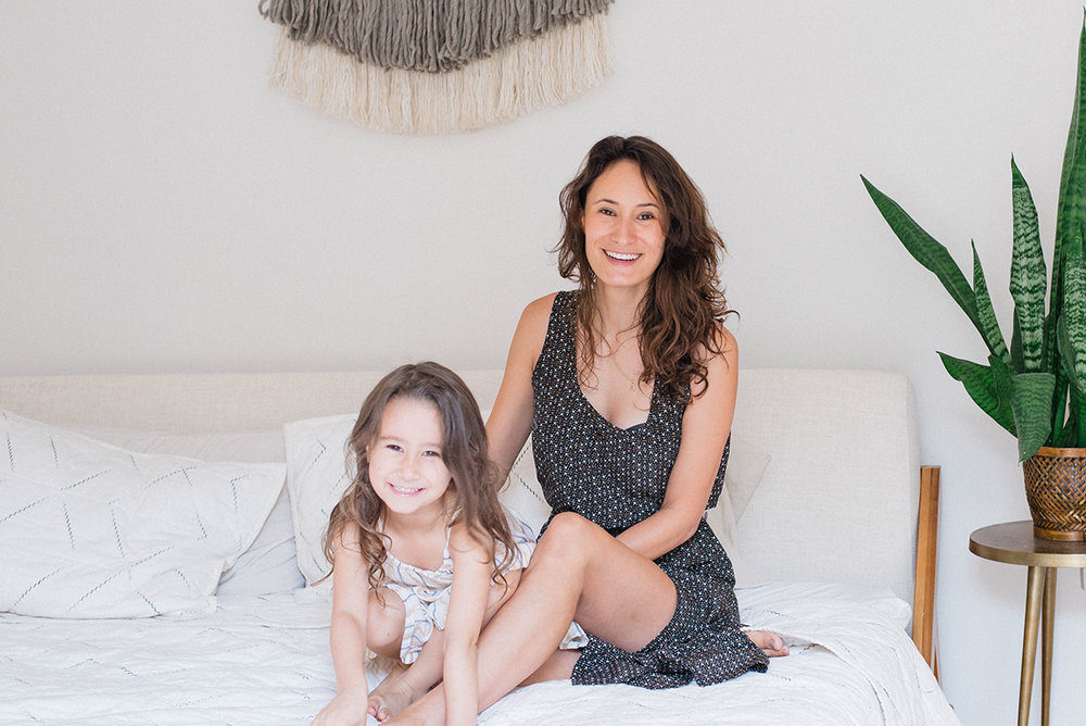 Daniela and Her Daughter Amelie
