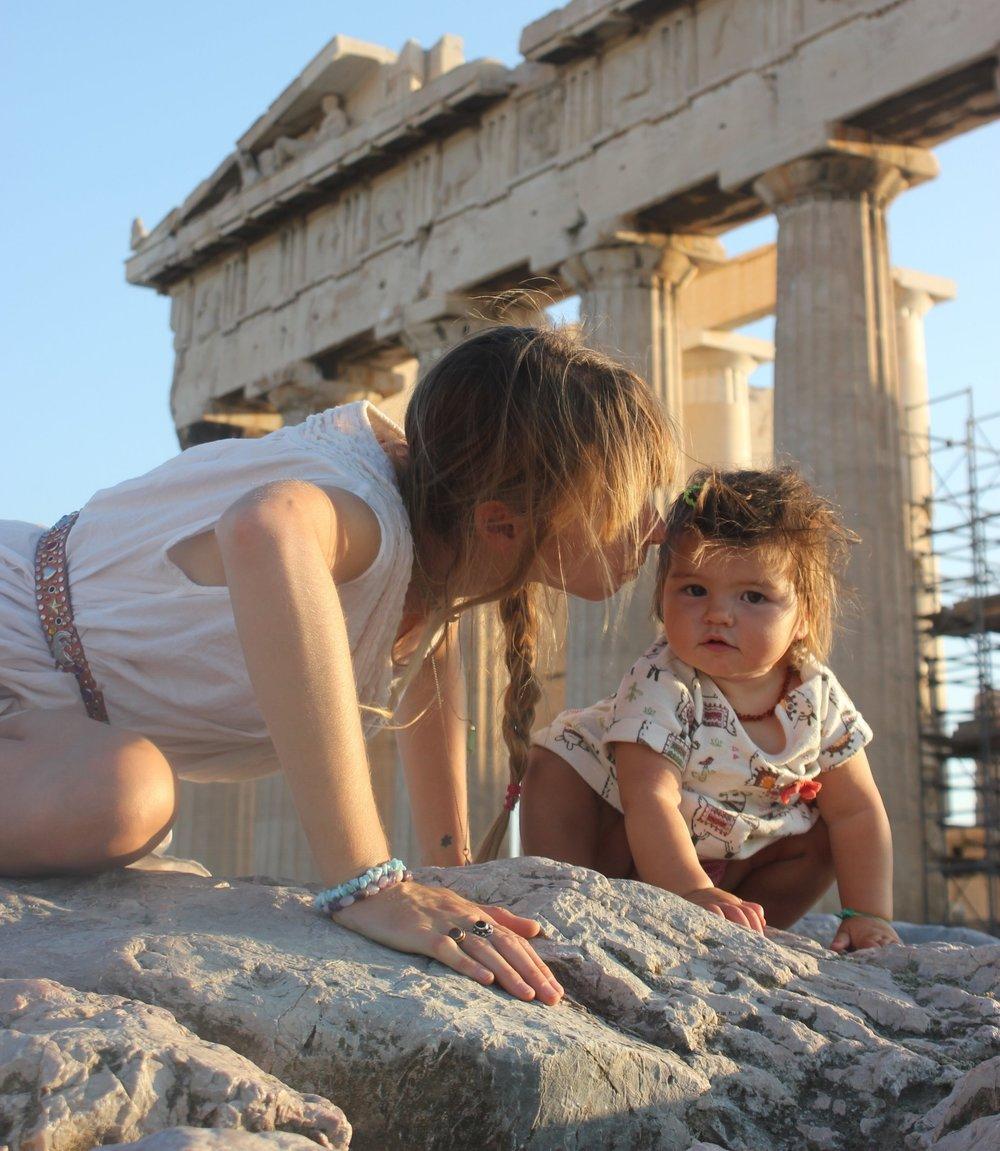 Roaming The Acropolis
