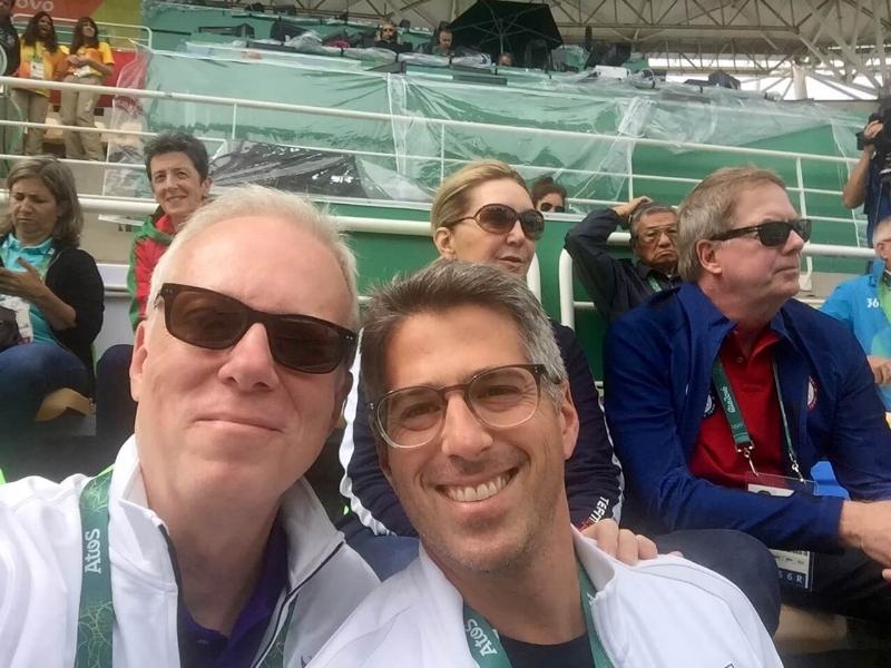 TB, LA 2028 Chairman Casey Wasserman - Rio 2016