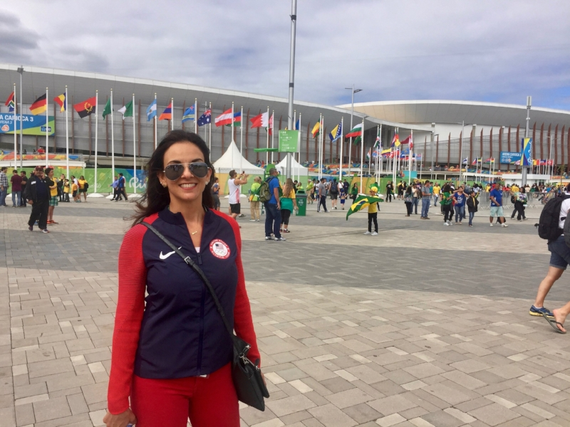 Patricia Feau, Wasserman Chief of Staff, Rio Games