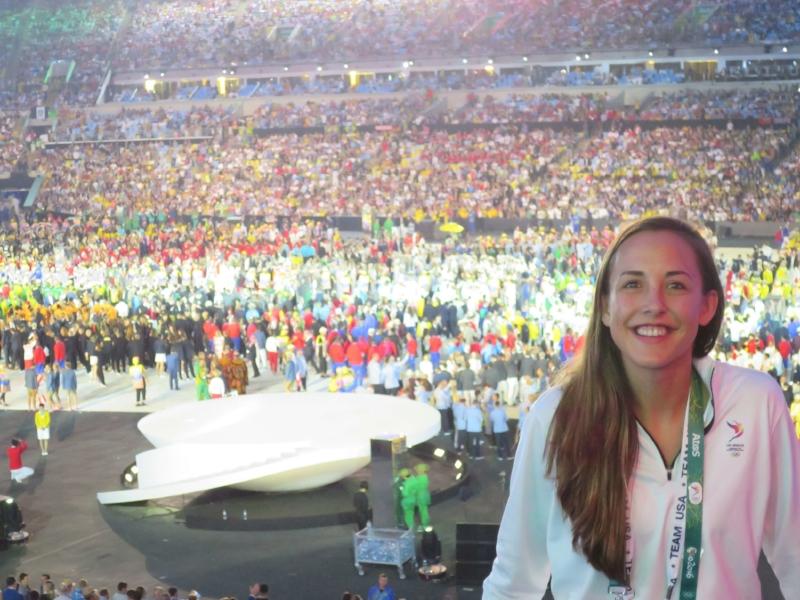 Hillary Ash, Rio 2016 Opening Ceremony