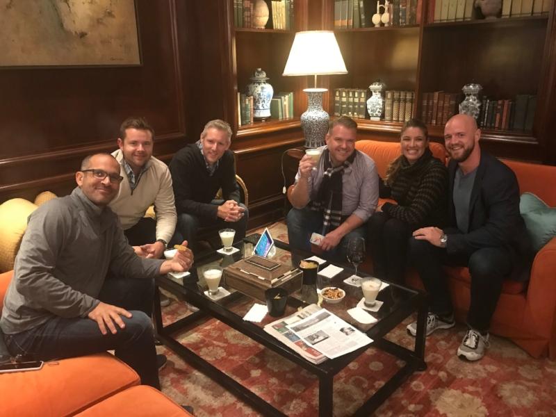 Danny, Mark, John, Dwayne, Carla, Brock - Lima hotel