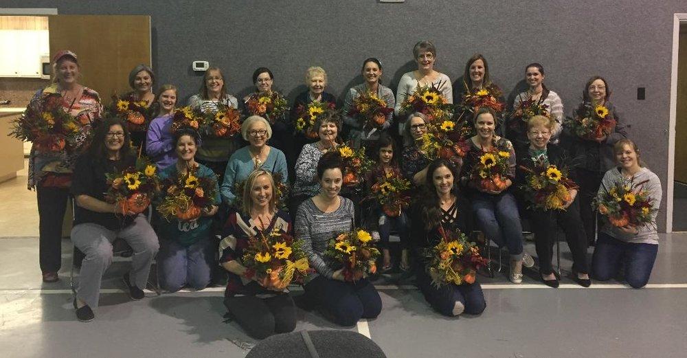Thanksgiving Center Piece -