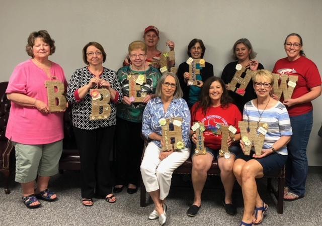 May 2018, Ladies Craft Night