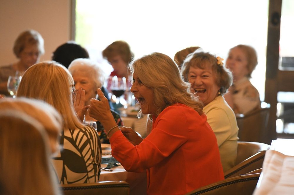 spring luncheon thumbs up.jpg
