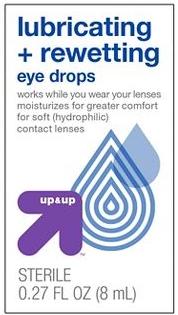 Eye Drops - Up & UP