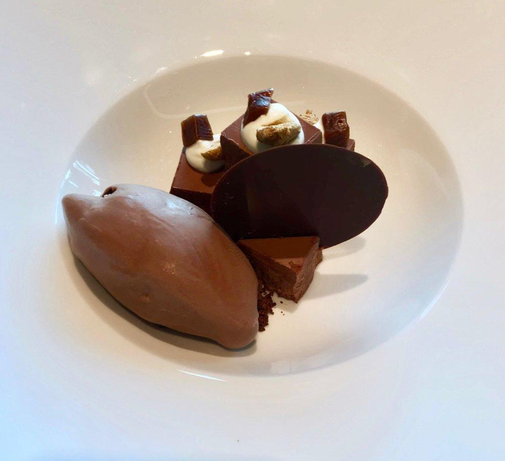 Chocolate dessert - Paris