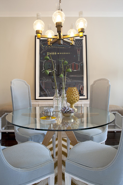Domicile id contemporary dining room
