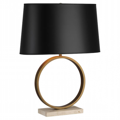 robert abbey table lamp, dayka robinson designs blog, via robertabbey