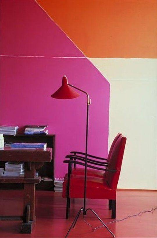 analogous colro scheme, dayka robinson designs blog, via apartmenttherapy.com