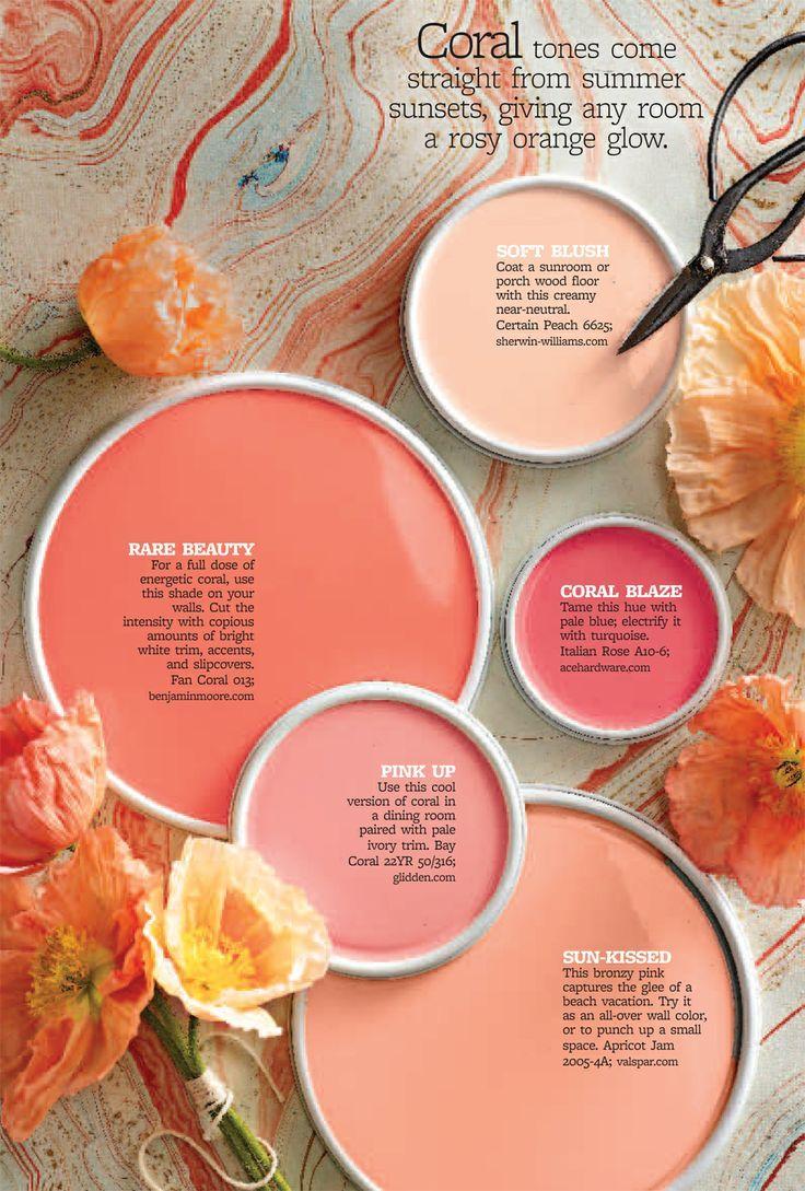 monochromatic color palette, dayka robinson designs blog via bhg.com